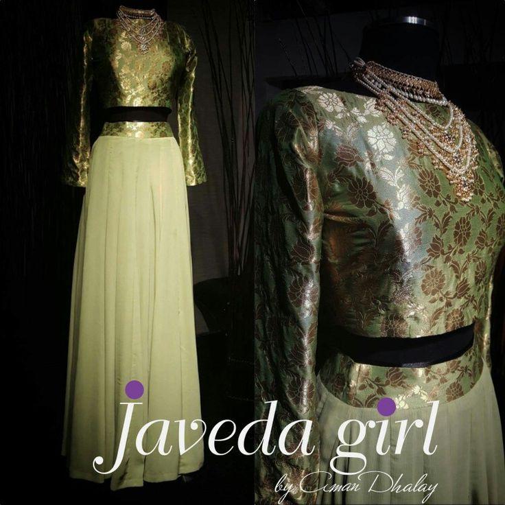 Regal sage green ● #Javedagirl #readytowear www.javeda.com