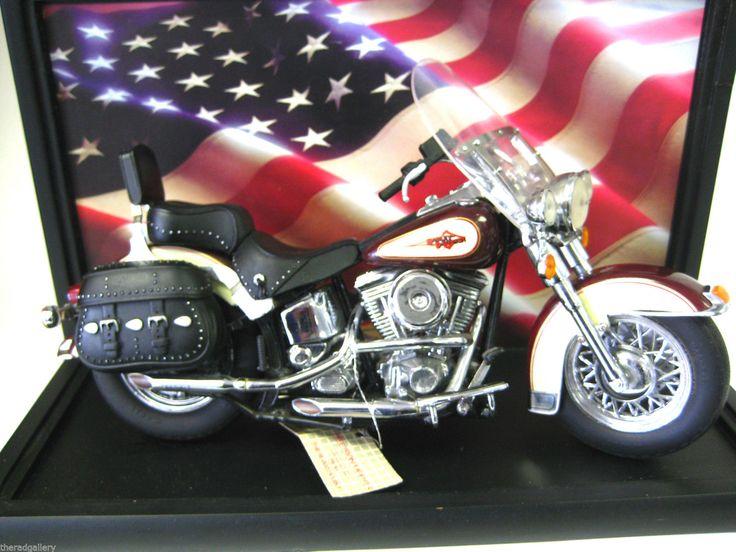 Harley Davidson Motorcycle Display Case