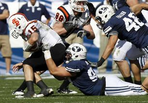BYU football: D-line returned missionaries have been impressing at BYU's spring camp | Deseret News