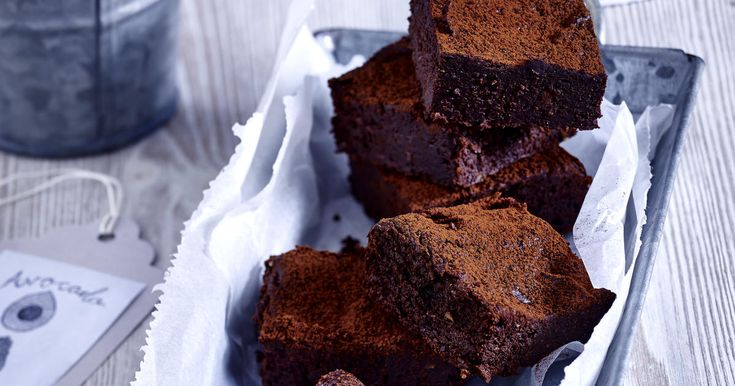 Gluten Free and Low Fat Avocado Brownies Recipe
