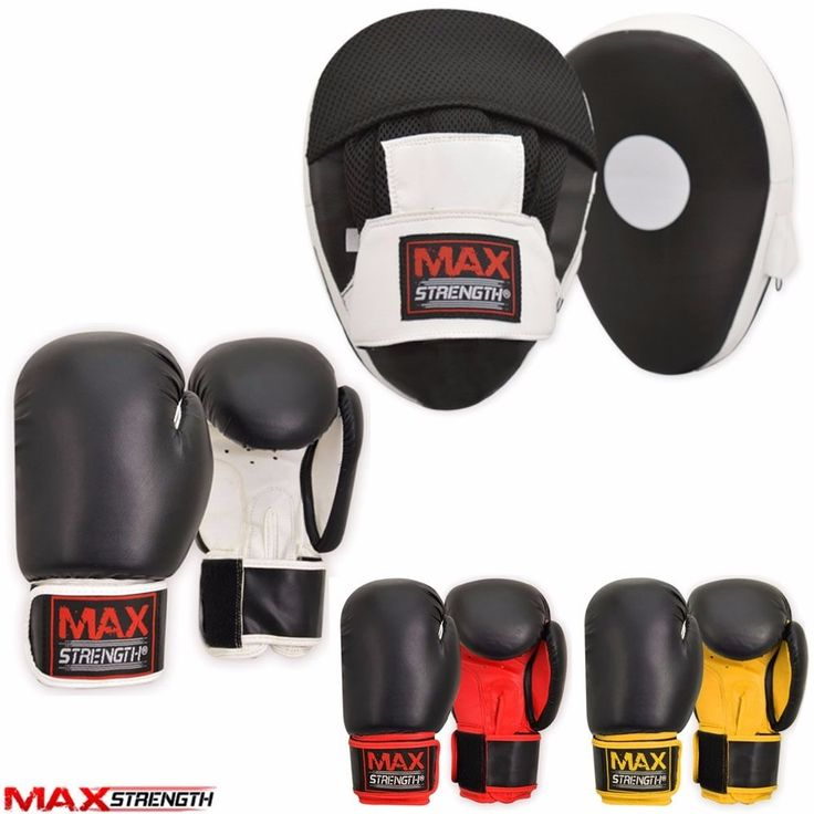 Boxing focus pads set hook and jab pro #fight #training bag mitts punch #gloves m,  View more on the LINK: 	http://www.zeppy.io/product/gb/2/351818947449/