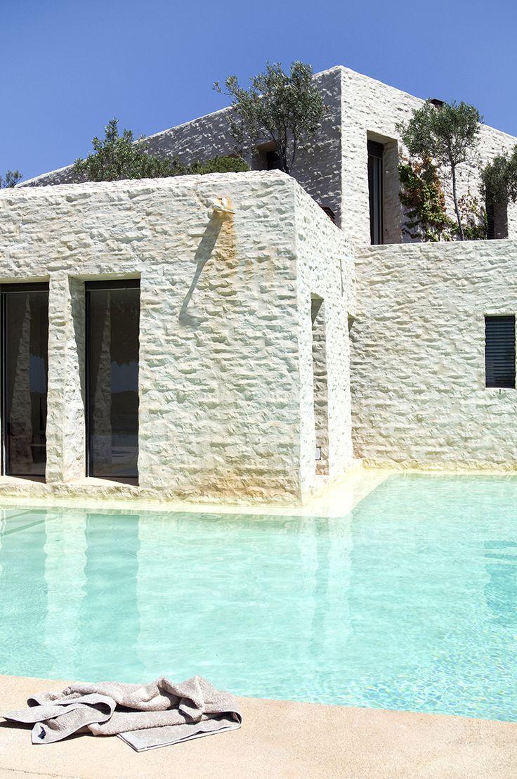 at Albert Lievore's home in Mallorca