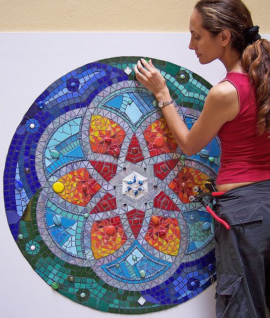 mosaic mandala | Recent Photos The Commons Getty Collection Galleries World Map App ...