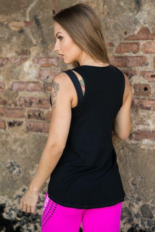 Regata 86 em Corte Mullet - Donna Carioca - Moda fitness com preço de  fábrica 4437dcb0ba6