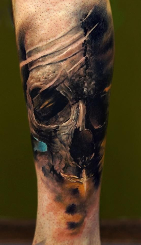 skull tattoo - Buscar con Google