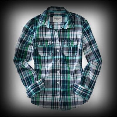 Aeropostale レディース シャツ エアロポステール Long Sleeve Serena Plaid Woven Shirt シャツ-アバクロ 通販 ショップ-【I.T.SHOP】 #ITShop