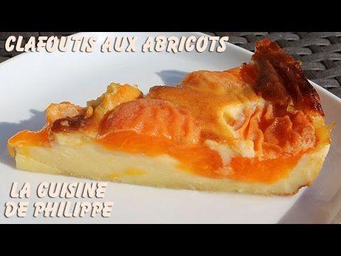 (1) Clafoutis aux abricots - YouTube