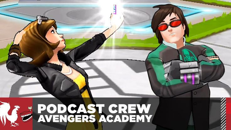 Let's Play - Marvel Avengers Academy - The Rooster Teeth Podcast Crew