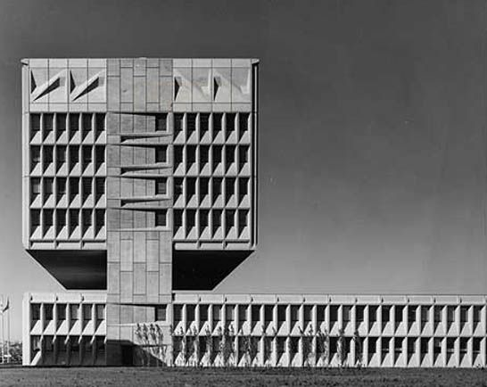 Armstrong Rubber Co. Headquarters, West Haven, Conn., 1970
