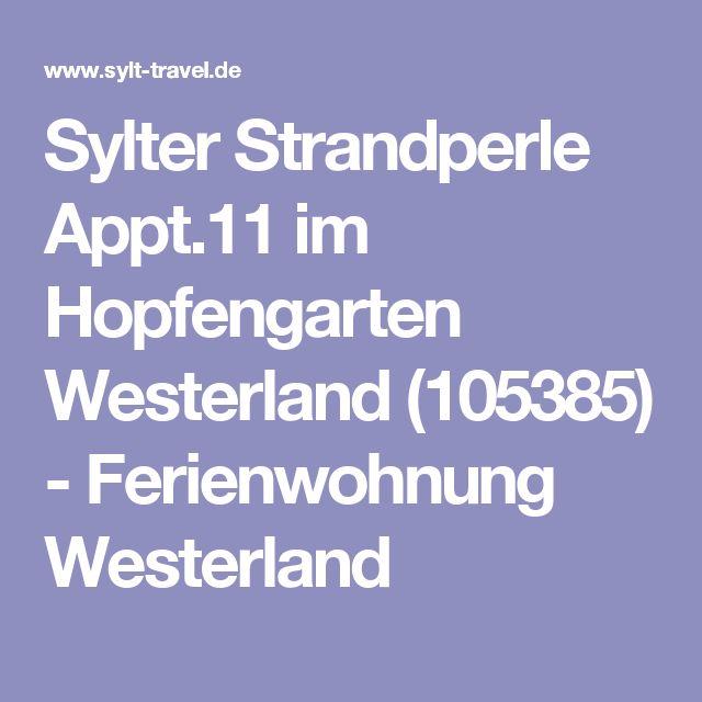 Sylter Strandperle Appt.11 im Hopfengarten Westerland (105385) - Ferienwohnung Westerland