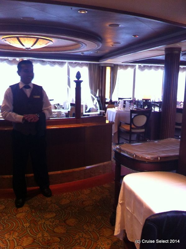 Cunard - Princess Grill - Aboard Queen Victoria