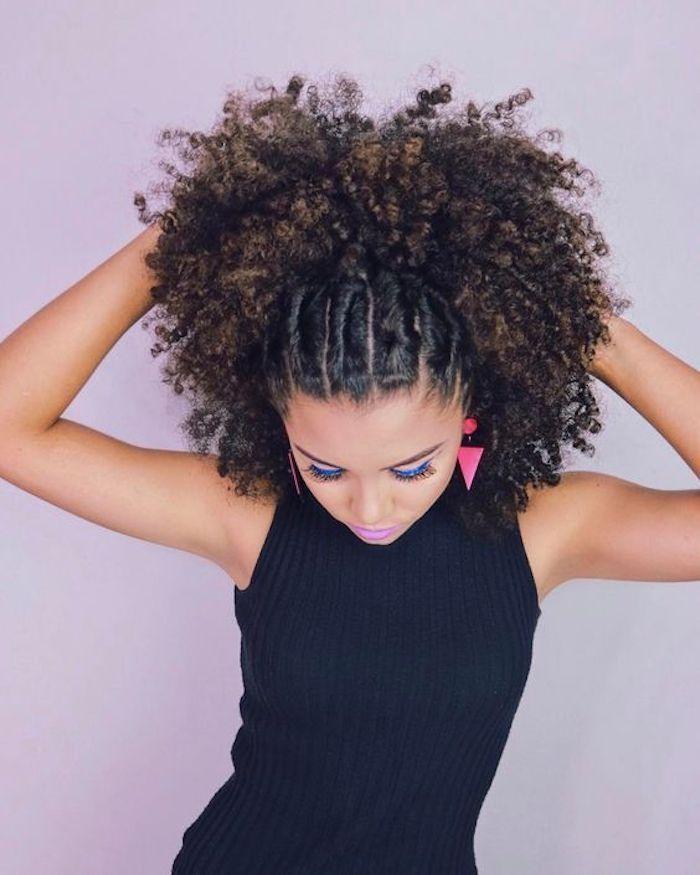 Épinglé sur cheveux crépus tresses africaines