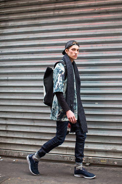 Street Looks à la Fashion Week homme automne-hiver 2015-2016 de Paris, Jour 1.