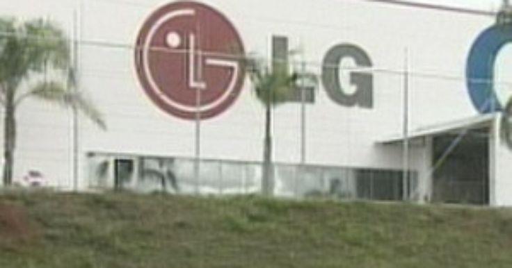 LG vai conceder férias coletivas para 915 funcionários em Taubaté, SP