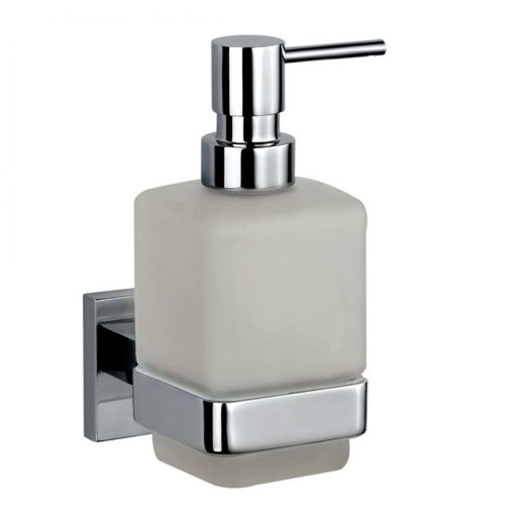 Jaquar Kubix Prime Soap Dispenser With Glass Bottle