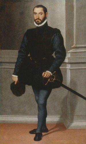 Portrait of a Man  1576  by Giovanni Battista Moroni (Italian c. 1520-1578)
