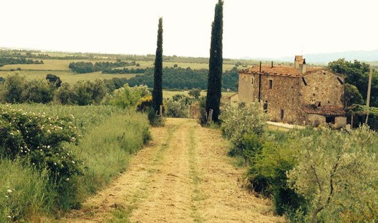 """Nella zona di Saturnia, a circa 15 km dalle """"Terme di Saturnia Spa & Golf Resort"""", nelle vicinanze del fiume Fiora, antico casolare denominato """"Il Fabbretto"""" in posizione panoramicissima, con vista a 360° sulla campagna circostante fino a scorgere il castello medievale di Manciano e non lonatano dai borghi caratteristici di Sovana, Sorano e Pitigliano."""