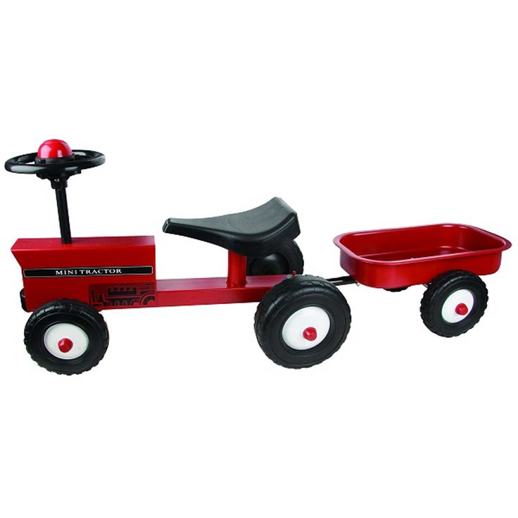 Ride-on Tractor plus Trailer