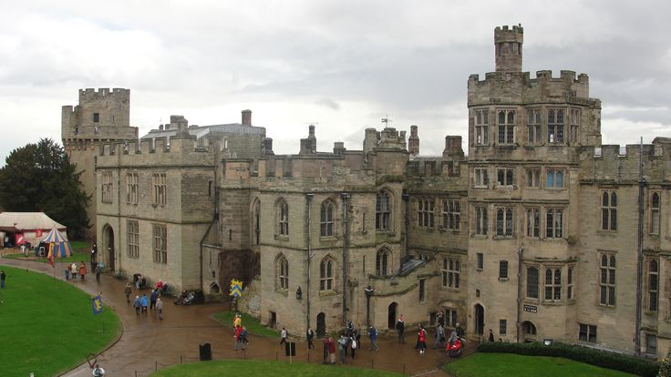 warwick castle in birmingham england-- I need to see this!