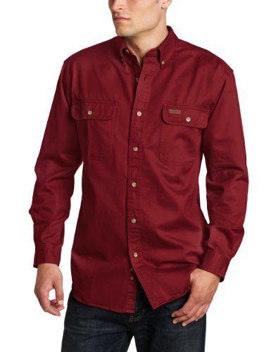 Carhartt Men's Oakman Work Shirt, Dark Red, XX-Large Carhartt http://www.amazon.com/dp/B008AQDMK6/ref=cm_sw_r_pi_dp_o2Cgub0C5END3