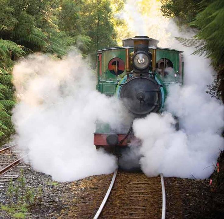 West Coast Wilderness Railway Tasmania AU
