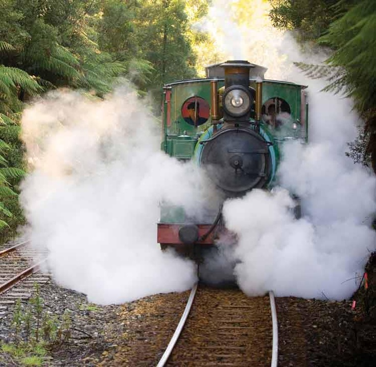 West Coast Wilderness Railway Tasmania AU