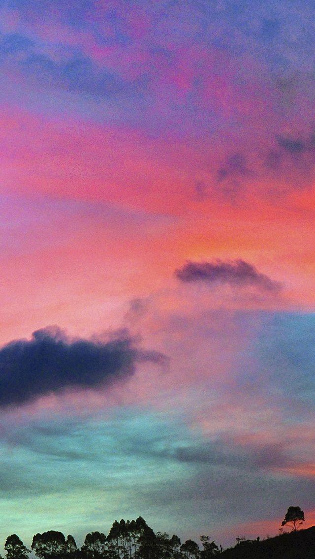 Sky Rainbow Cloud Sunset Nature Iphone Wallpapers Iphone Wallpaper Sky Rainbow Aesthetic Nature Iphone Wallpaper