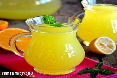 6 Adımda kolay Limonata Tarifi