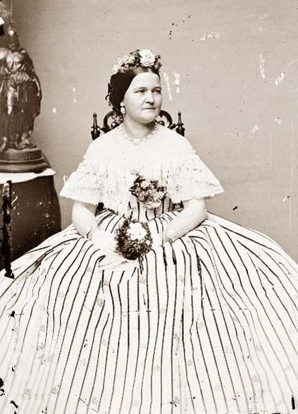 Mrs Mary Todd Lincoln Wife Of The 16th President Of The Us Abraham Lincoln Abraham Lincoln