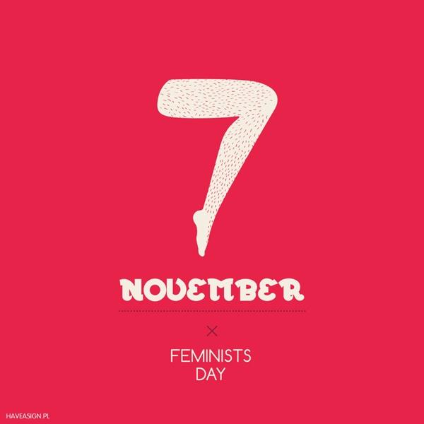 7th November - FeministsDay