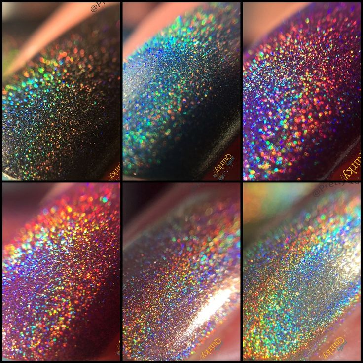 17 Best Ideas About Holographic Nail Polish On Pinterest