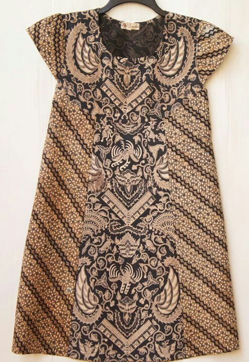 Dress batik lawasan - simple but also cute and elegant
