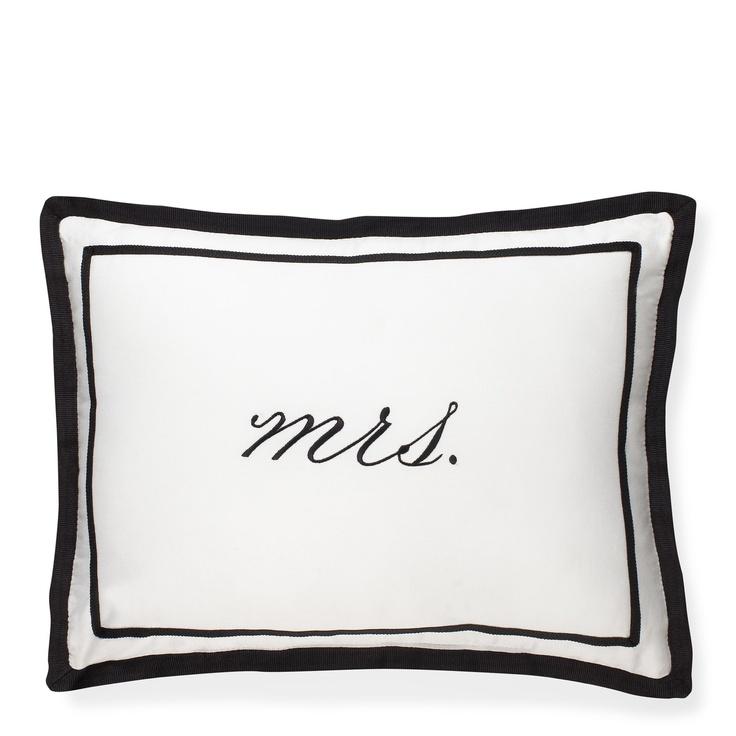 Kate Spade Mrs Pillow Home Pillows Kate Spade