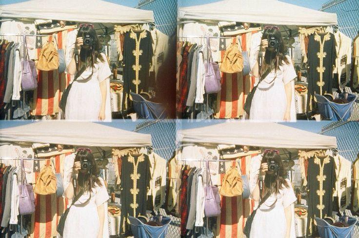 Sister, Brooklyn Flea Market, NYC. Lomo Pop Cam.