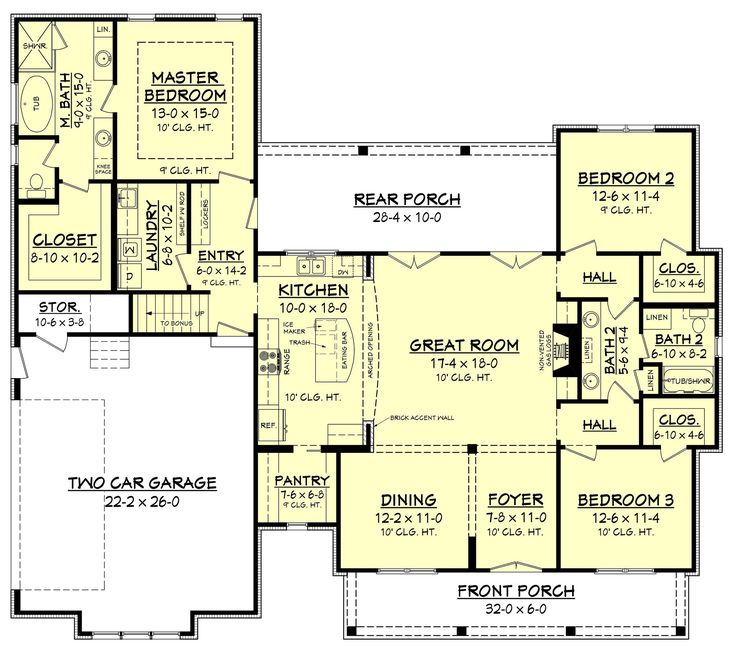 203 best Cool House Plans images on Pinterest | House floor plans ...