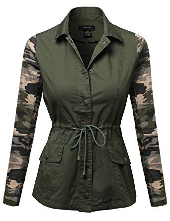 LightWeight Military Casual Camouflage Shirt Jacket Camouflage