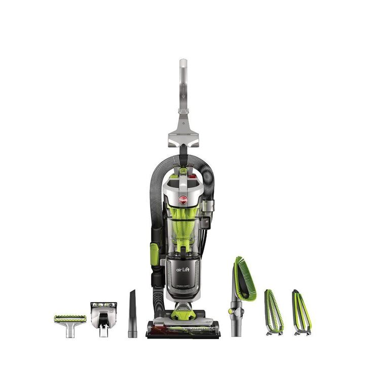 hoover air lift deluxe bagless upright vacuum and canister vacuum cleaner combo grays