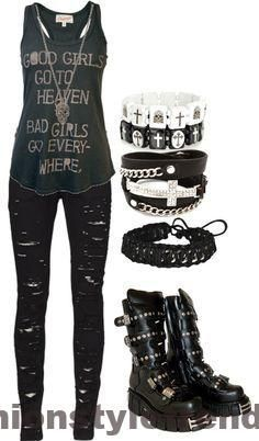Punkrock-Mode für Teenager – Google Search, #fash…