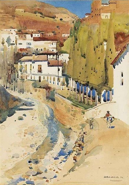 171 Best Watercolor Masters Images On Pinterest Water