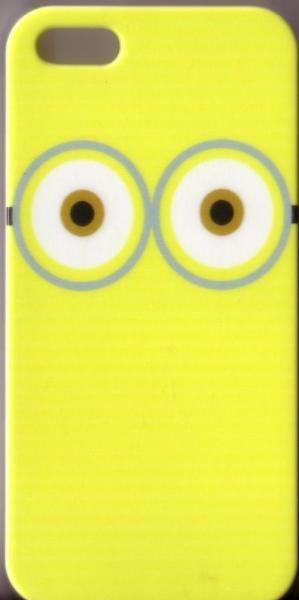"""Biete hier eineApple iPhone 5 / 5S Schutzhülle / Hard Case """"Weisse Augen auf gelben Grund"""" Figur aus """"Ich, einfach unverbesserlich"""" an.Technische DatenKompabilität iPhone 5S, iPhone 5Eigenschaften Rückseiten CoverMaterial KunststoffStil GrafikFarbe MehrfarbigMaße (cm) 12.5 X 6 X 0.8Gewicht (kg) 0.01Versand (1,00 €) und Paypal oder Überweisung möglich"""