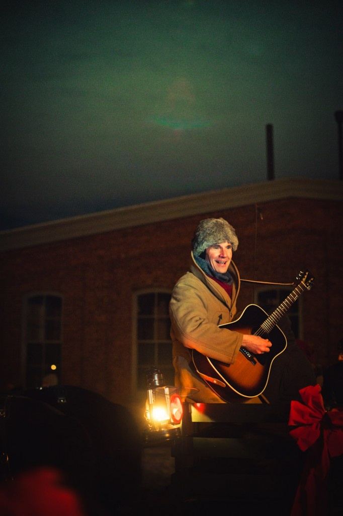 Live music all around during Greenfield Village Holiday Nights