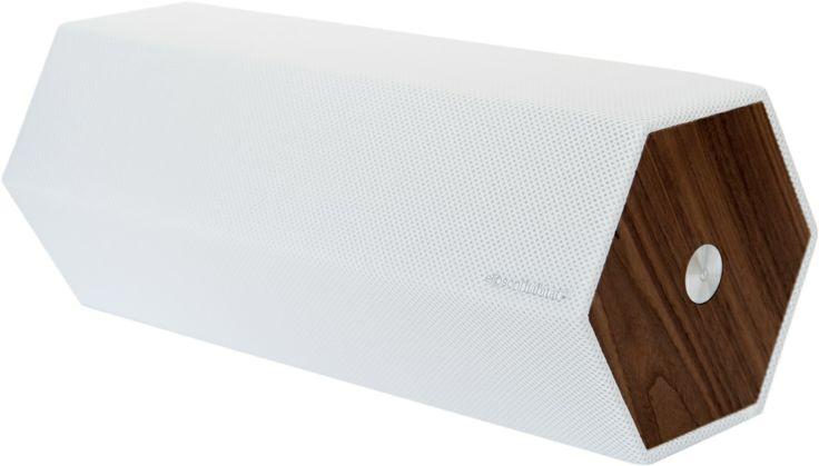 Timber høyttaler med airplay system! Fet lyd og god design kombinert i en superhøyttaler. Kr. 1500,-