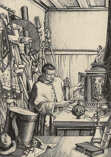 Harry Morley, The Sacristan