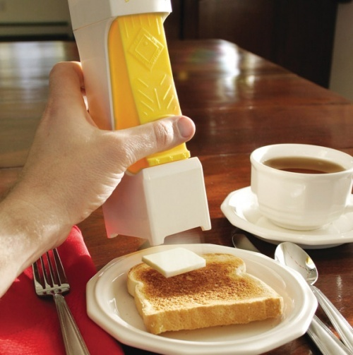 one-click butter cutter. kinda lazy, but kinda cool