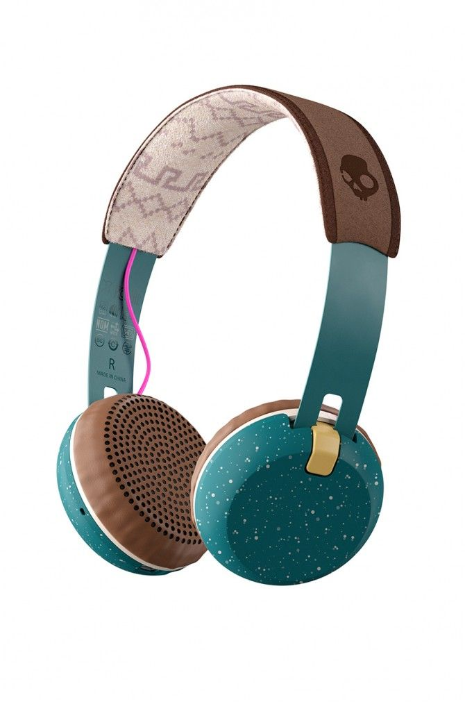 Наушники Наушники  - Skullcandy - Наушники Grind Wireless On-ear