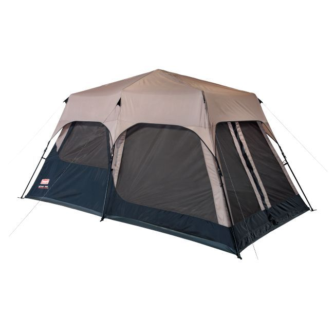 Protect yourself from the rain and increase your tents airflow with this waterproof instant tent rainfly. Designed for use with the Coleman eight-person tent, this accessory includes steel stakes to keep it secure and a storage bag for easy transport.