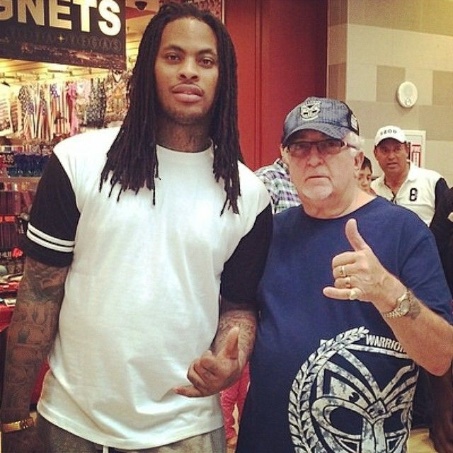 Sir Peter Leitch meets rapper Waka Flocka Flame in Las Vegas #WakaFlockaFlame #WakaFlocka #Rapper #WarriorsForever #Warriors #LasVegas