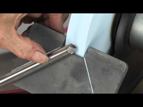 Sharpening Woodturning Tools Freehand - YouTube