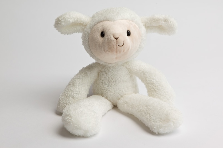 For the little one, a gift better than chocolate.  GUND fuzzy Lamb $24.95 at Myer.