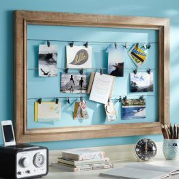 Brandon would love his for all his pics Amy knick-knack...Teen Bedroom Accessories & Teen Room Decor | PBteen